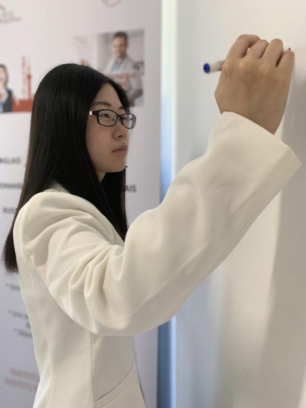 cours de chinois-étudiant