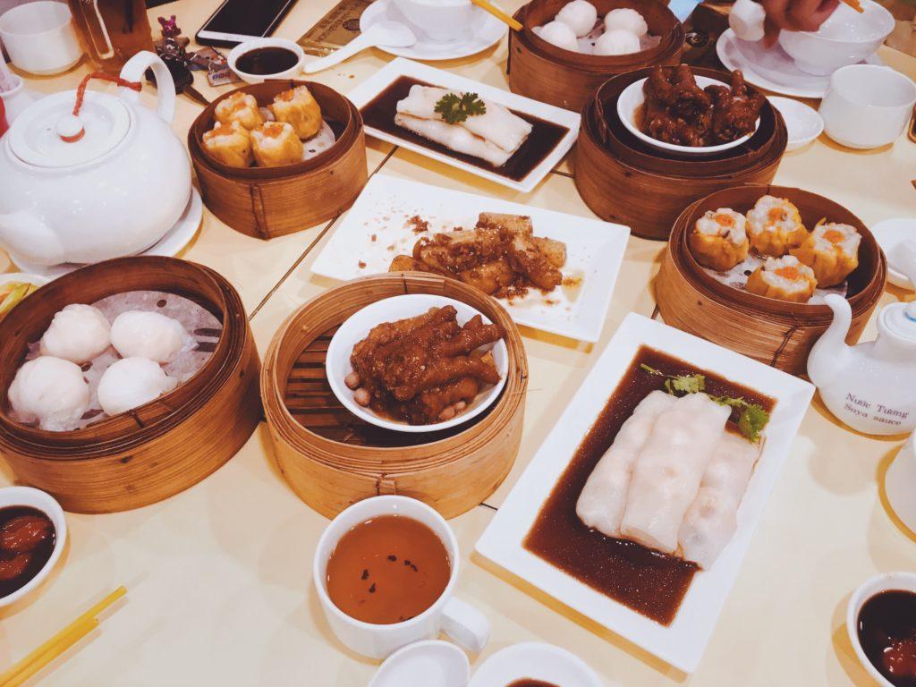Image de plats chinois préparés