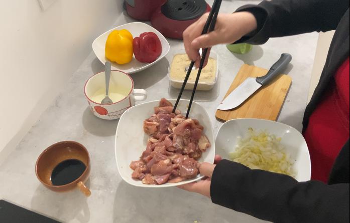 porc au caramel préparation