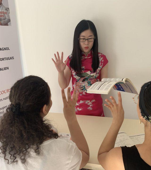 Cours de chinois pour étudiants en alternance