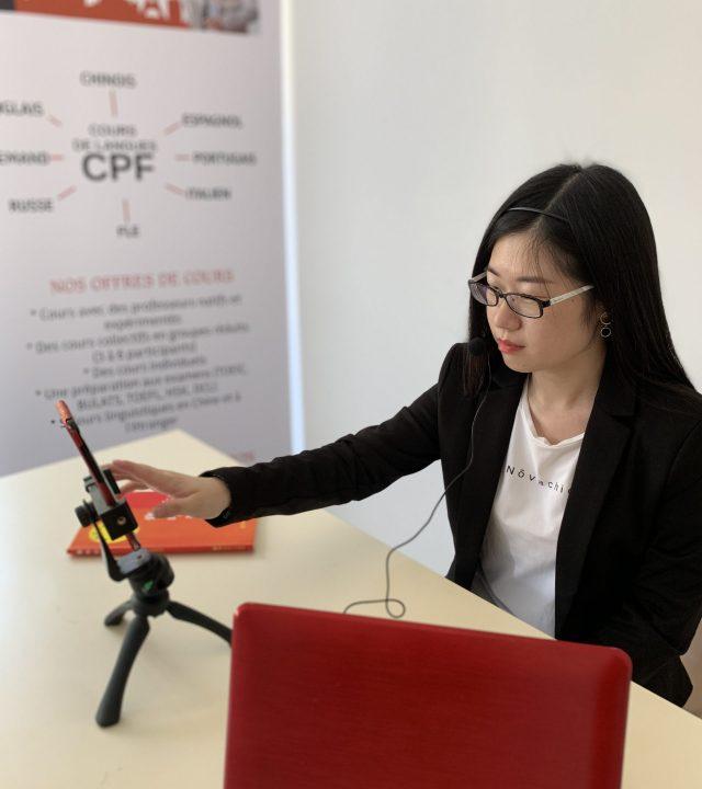 cours de chinois etudiant CPF